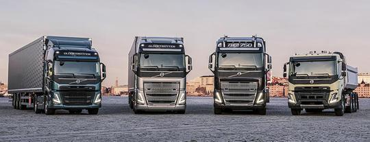 Volvo launches four new trucks